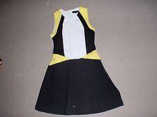 Cotton Blend Argyle Regular Size Dresses for Women
