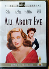 All About Eve - Bette Davis, Anne Baxter, George Sanders, C. Holm - Sealed Dvd