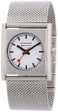 Mondaine Evo White Dial Stainless Steel Quartz Men's Watch A.658.30320.16SBM