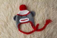 Monkey Baby Crochet Knit Photo Photography Prop Costume Hat