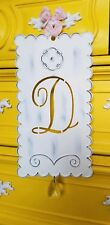 "Pottery Barn Kids Ribbon Tin Letter ""D"" ~ SOLD OUT@PBK"