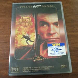 From Russia With Love DVD R4 Like New! FREE POST