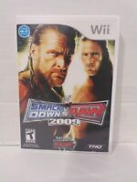 WWE SmackDown vs. Raw 2009 Featuring ECW (Nintendo Wii, 2008) Game and Case