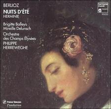 Berlioz - Nuits d't  Herminie / Balleys  Delunsch  Herreweghe