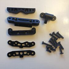 KYOSHO INFERNO NEO, NEO ST, MP7.5, US, FRONT & REAR PIN HOLDERS, IF113 BK, IF124