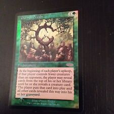 MTG MAGIC CARTE PROMO JUDGE OATH OF DRUIDS (ENGLISH SERMENT DES DRUIDES) NMFOIL