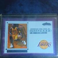 Kobe Bryant Fleer Avant Basketball Card 2002-2003 Lakers English NM-EX
