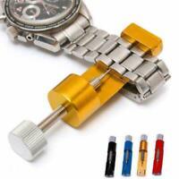Metalljustierbarer Uhrenarmband Bügel Armband Verbindungs Remover Reparatur W8N3