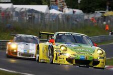 """Porsche 911 GT3 RSR """" NÜRBURGRING 24h SIEGER 2011"""" Manthey in 1:18 ANFERTIGUNG"""