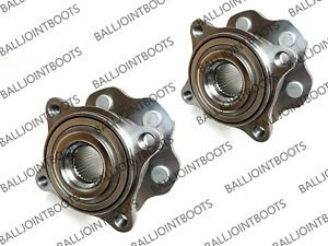 2 x Nissan Pathfinder Mk3 R51 Rear Hub Wheel Bearing Kits 2005-2013 - New