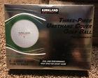Kirkland Signature Three Piece Performance  Golf Balls 1 Dozen Brand New In Box
