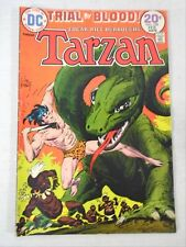 DC Trial by Blood TARZAN Edgar Rice Burroughs Comic Book 1974 Joe Kubert Artwork