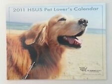 The Humane Society of the United States HSUS 2011 Pet Lovers Calendar Unused