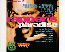 CD RAPPERS PARADISEvol 2VG++ (B1318)