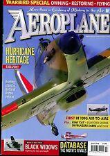 Aeroplane Monthly 2016 July Spartan,Avro Avian,Redwing,Bf109,Hurricane,P-61