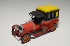 @. 1:43 RIO 33 MERCEDES-BENZ LIMOUSINE 70 C.V. 70CV 1908 RED WITH BLACK N MINT