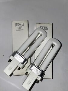 (2) TWO REPLACEMENT BULBS FOR TCP 32005 5W NEW