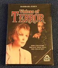 Visions of Terror (DVD, 2006) Brand New Sealed, Region 1, Barbara Eden