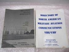 1991 MILITARY RADIO SYSTEMS AVIATION VHF UHF FIRST EDITION BOOK