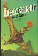 Fiction: DRAGONFLIGHT by Anne McCaffrey. 1978. Signed 1st edition, printing