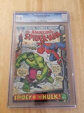 The Amazing Spider-Man #119 (April 1973, Marvel) CGC 7.5 (Hulk Appearance)