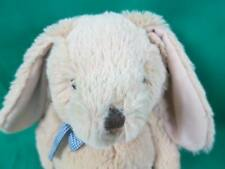 The Children'S Place Tan Easter Bunny Rabbit Blue Checkered Bow Gingham Plush