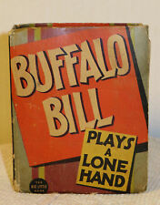 Vintage Big Little Book Buffalo Bill Plays A Lone Hand Western #1194 #0434312AE