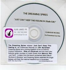 (DQ307) The Dreaming Spires, Just Can't Keep This Feeling In - DJ CD