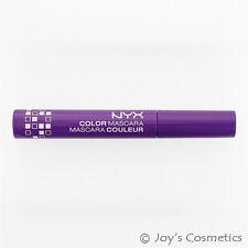 "1 NYX Color Mascara "" CM 01 - Purple ""      *Joy's cosmetics*"