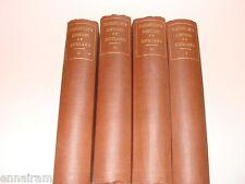 Thomas Macaulay History of England 1879 4 vols  II,III,IV,V Hc