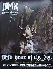 DMX WINDOW CLING, YEAR OF THE DOG AGAIN PROMO (D8)