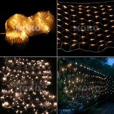 Warm White 4Mx6M 880LED Net Fairy Light  BBQ Wedding Xmas Party Garden Mesh