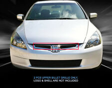 For 03-04 Honda Accord EX Sedan 2005 LX Sedan Billet Grille Upper Insert Fedar