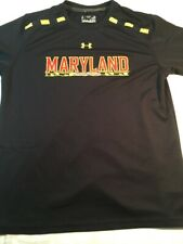 Youth Under Armour University of Maryland Terps Black Tee