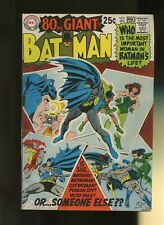 Batman 208 FN+ 6.5 * 1 Book Lot * DC Comics! Detective! 1st Appearances! 1969!