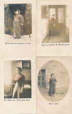 Nr.19421 4x Privat Foto PK schöne Frauen    um 1914