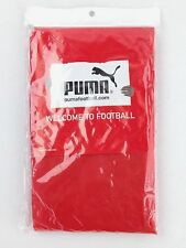 Puma Football Rain Poncho Red Cat Logo