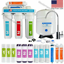 5 Stage Reverse Osmosis System Drinking Water Filtration System + 7 Extra Filter