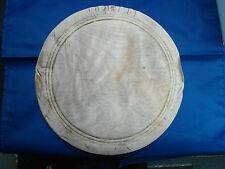 ANTIQUE ROUND WOODEN BREAD BOARD
