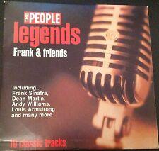 LEGENDS: FRANK SINATRA & FRIENDS - PROMO CD (2003) 10 TRACKS / NAT KING COLE ETC