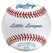 "12 Rawlings RLLB1 Little League 9"" 5oz BLEM Baseball Practice Tournament Dozen"