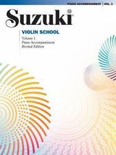 Suzuki Violin School: Suzuki Violin School, Vol 1 : Piano Acc Vol 1 (2000,...