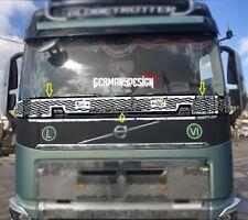 Edelstahl Scheiben Gitter Applikation für Volvo FH4
