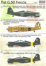Print Scale Decals 1/48 FIAT G.50 FRECCIA Italian WWII Fighter Part 2