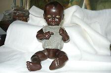 alte Schildkröt Puppe Nr. 25 Celluloid Puppe Negerpuppe