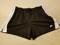 Womens Nike Shorts XL Black Athletic Gym Workout