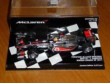 1/43 Minichamps McLaren Mercedes MP4-26 Lewis Hamilton Winner Chinese GP 2011