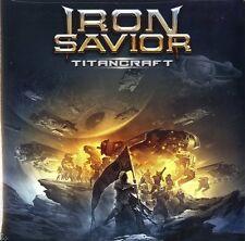 IRON SAVIOR TITANCRAFT DOPPIO VINILE LP CLEAR VINYL NUOVO SIGILLATO !!