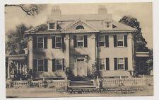 Old postcard - LONGFELLOW HOUSE, CAMBRIDGE, MA