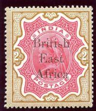 British East Africa 1895 QV 2r carmine & yellow-brown MLH. SG 61. Sc 68.